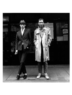 Paul Weller and Pete Townshend London 1980 - Expo